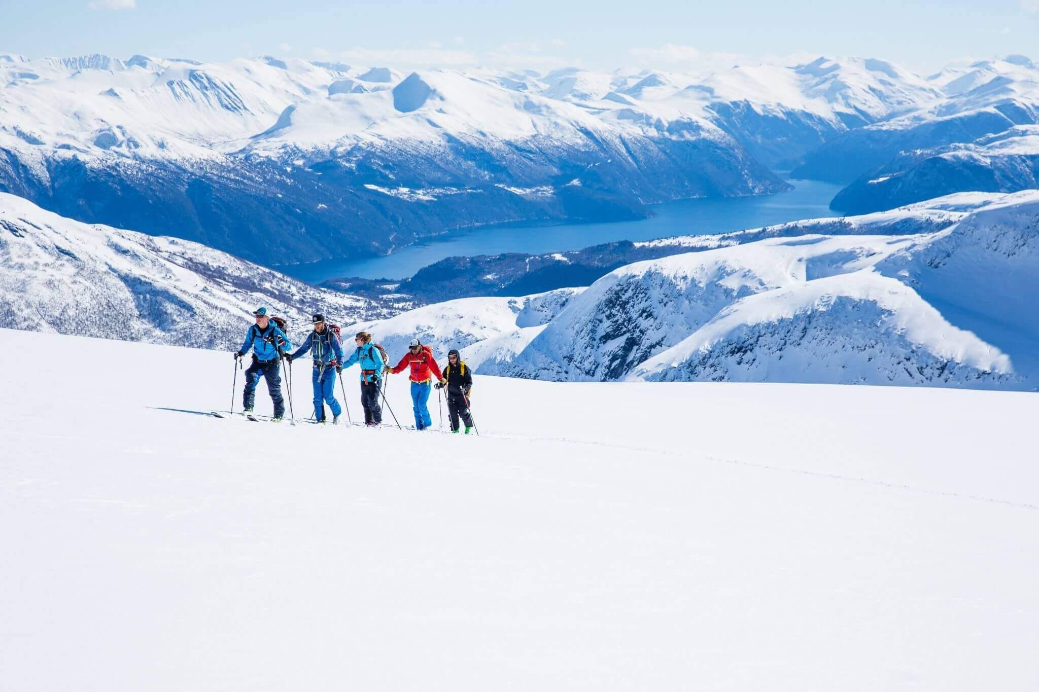 Ski touring week in Sunnmøre